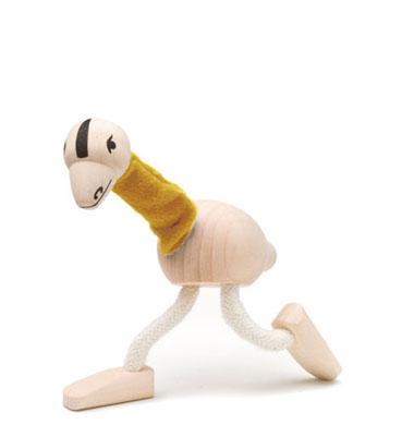 Figurka strusia Emu - zabawki drewniane Anamalz