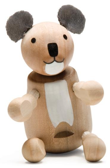 Figurka misia koala - zabawki drewniane Anamalz