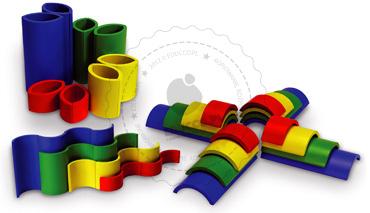 Układanka dla dzieci - CREATA - zabawki edukacyjne