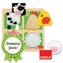 Puzzle - Rozpoznawanie zwierzątek - zabawki edukacyjne