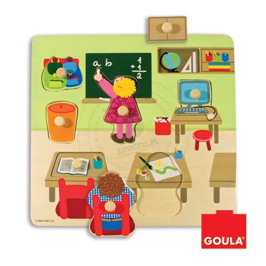 Puzzle - Szkoła - zabawki edukacyjne