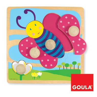 Puzzle - Motyl - zabawki edukacyjne