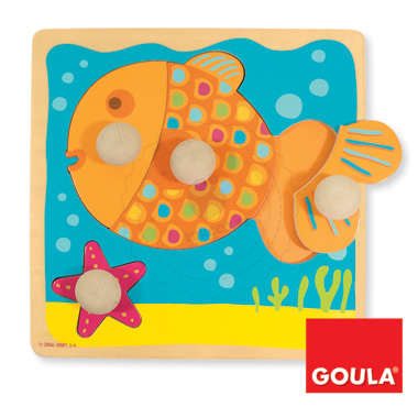 Puzzle - Rybka - zabawki edukacyjne