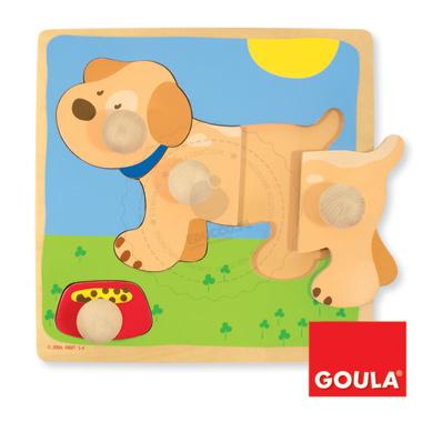 Puzzle - Piesek - zabawki edukacyjne