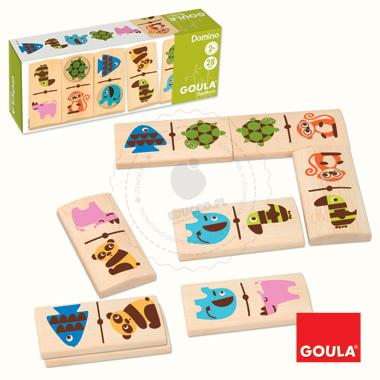 Bambusowe domino - zabawki drewniane