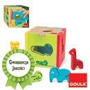 Kostka ze zwierzątkami - sorter dla najmłodszych - zabawki edukacyjne