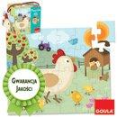 Puzzle - Kurka z kurczakami - zabawki edukacyjne