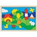 Puzzle - Latarnia morska - zabawki drewniane