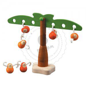Balansujące małpki, Plan Toys - zabawki edukacyjne