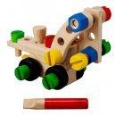 Zestaw konstrukcyjny 30 części, Plan Toys