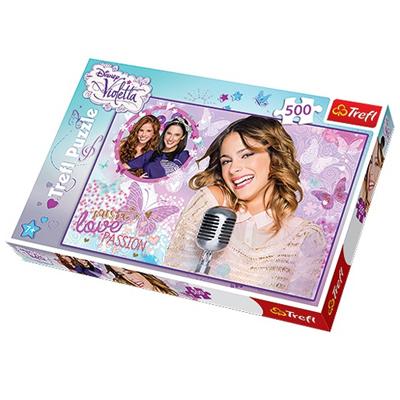 TREFL Puzzle 500 elementów - Violetta Zaśpiewajmy