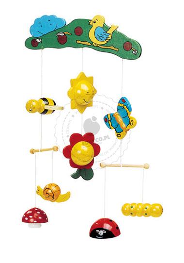 Zawieszka - Małe zwierzątka - zabawki drewniane