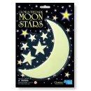 4M Glowing Gwiazdki i Księżyc - świecą w ciemności