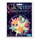 4M Glowing Mini Gwiazdki Kolorowe  - świecą w ciemności
