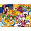 CLEMENTONI Puzzle 60 elementów - Myszka Mickey PCL-26574