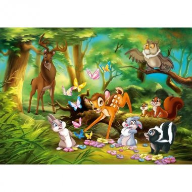 CLEMENTONI Puzzle 250 elementów - Bambi