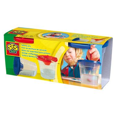 Bezpieczny kubeczek do malowania - zabawka kreatywna dla dzieci
