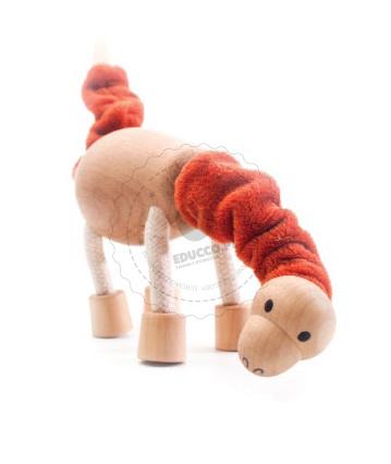 NAJLEPSZY POMYSŁ NA PREZENT - Figurka Anamalz - dinozaur Brontozaur - zabawki dla dzieci