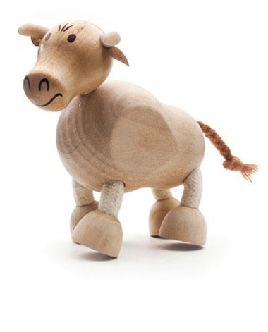 Figurka byka - zabawki drewniane Anamalz