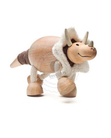 Figurka dinozaura Triceratopsa - zabawki dla dzieci Anamalz
