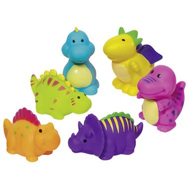 Gumowe zwierzątka Goki - Dinozaury