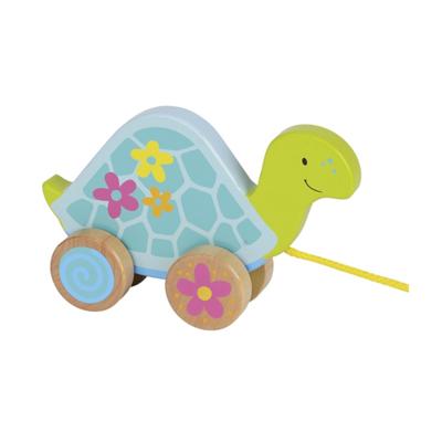 Drewniany żółwik do ciągnięcia