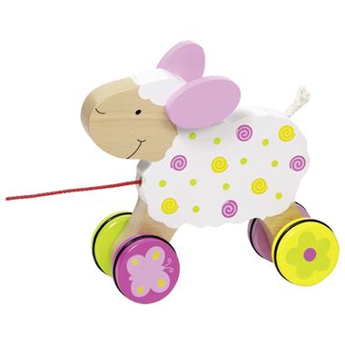 Drewniana owieczka do ciągnięcia GOKI Susibelle